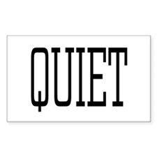 Quiet Decal