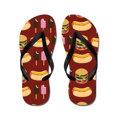 Summer BBQ Flip Flops