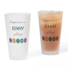 Jenny BINGO Drinking Glass