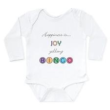 Joy BINGO Long Sleeve Infant Bodysuit