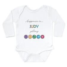 Judy BINGO Long Sleeve Infant Bodysuit