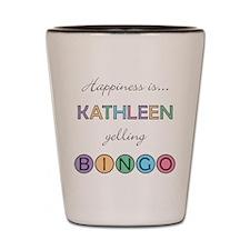 Kathleen BINGO Shot Glass