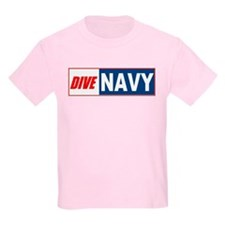 Dive Navy Kids T-Shirt