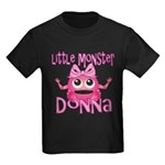 Little Monster Donna Kids Dark T-Shirt