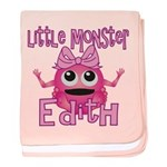 Little Monster Edith baby blanket