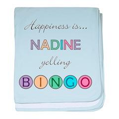 Nadine BINGO baby blanket