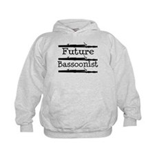 Future Bassoonist Kids Hoodie