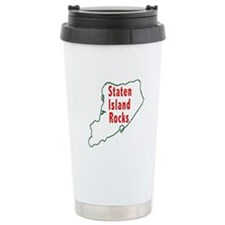 Staten Island Rocks Ceramic Travel Mug