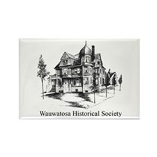 WHS Logo Rectangle Magnet (100 pack)