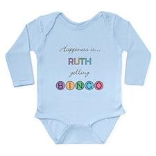 Ruth BINGO Long Sleeve Infant Bodysuit