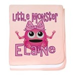 Little Monster Elaine baby blanket