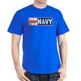 Teach Navy Black T-Shirt