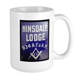Hinsdale Masonic Lodge No. 934 Gas Lamp Coffee Mug