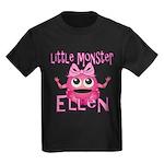 Little Monster Ellen Kids Dark T-Shirt