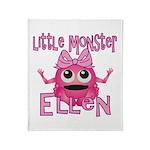 Little Monster Ellen Throw Blanket