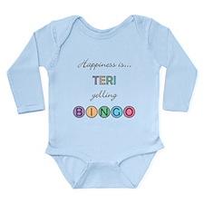 Teri BINGO Long Sleeve Infant Bodysuit