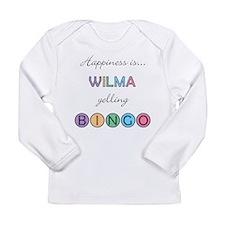 Wilma BINGO Long Sleeve Infant T-Shirt