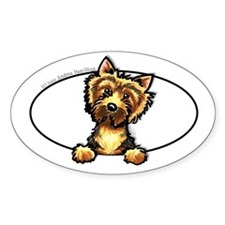 Norwich Terrier Line Art Decal