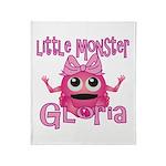Little Monster Gloria Throw Blanket
