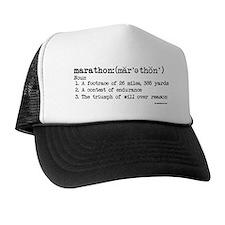 Marathon Definition Trucker Hat