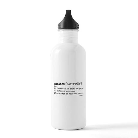 Marathon Definition Stainless Water Bottle 1.0L