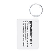 Marathon Definition Keychains