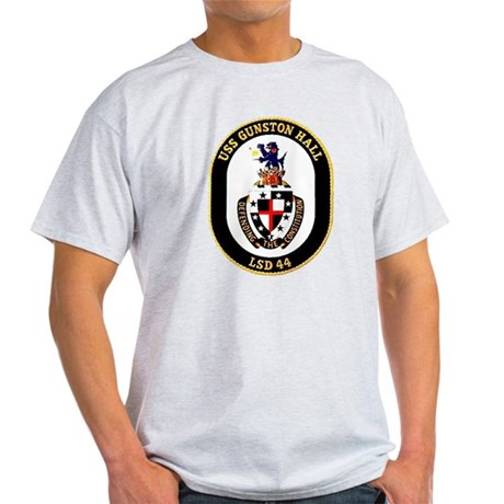 USS Gunston Hall LSD 44 Ash Grey T-Shirt