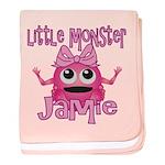 Little Monster Jamie baby blanket