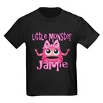 Little Monster Jamie Kids Dark T-Shirt