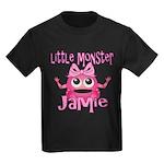 Little Monster Jamie Kids Dark T-Shirt
