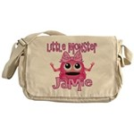 Little Monster Jamie Messenger Bag