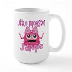 Little Monster Jamie Large Mug