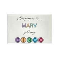 Mary BINGO Rectangle Magnet