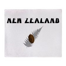 New Zealand Rugby Throw Blanket