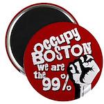 Occupy Boston Protest Magnet