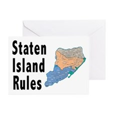 Staten Island Rules Greeting Cards (Pk of 10)