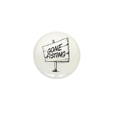 Gone Fisting Mini Button