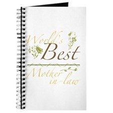 Vintage Best Mother-In-Law Journal