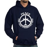 B-47 Peace The Old Fashioned Way Hoodie