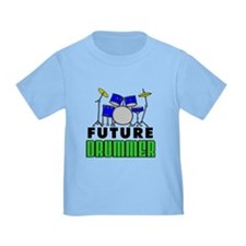 Future Drummer (Blue) T