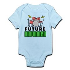Future Drummer (Pink) Infant Bodysuit