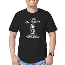 Castle - The Old Haunt Men's Fitted T-Shirt (dark)