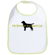 My Brother is a Black Lab Bib