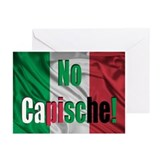 No Capische! Greeting Cards (Pk of 20)