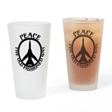 FB-111 Peace Plane Drinking Glass