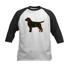 Chocolate Lab - Camo Vest Tee