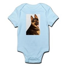 Cute German shephard Infant Bodysuit