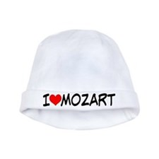 Mozart Music baby hat