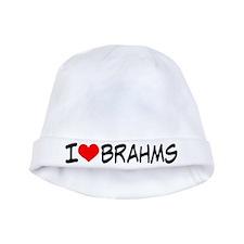 Brahms Music baby hat