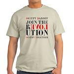 #OccupyDaroff Light T-Shirt